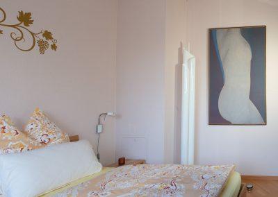 Kunst iim Schlafzimmer