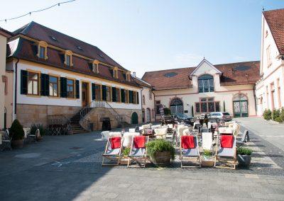 Sektkellerei Innenhof